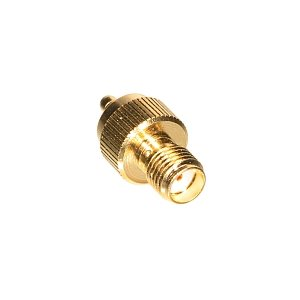 SMA Jack to MMCX Plug Adapter - Amphenol Connex RF Adapter (SMA Female  /  MMCX Male)