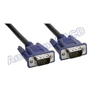 Premium VGA / SVGA 15-pin D-Sub Monitor Cable - HD15 Male  /  HD15 Male