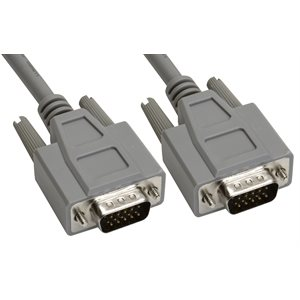 15-Pin (HD15) Deluxe HD D-Sub Cable - Copper Shielded - Male  /  Male