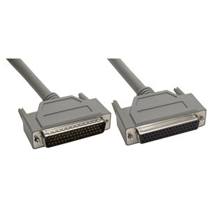 50-Pin (DB50) Deluxe D-Sub Cable - Copper Shielded - Male  /  Female
