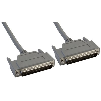 37-Pin (DB37) Standard Shielded D-Sub Cable - Male  /  Male