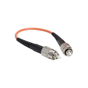 FC Connector Loopback Cable:  Multimode 62.5 / 125 Fiber Optic Port Testing