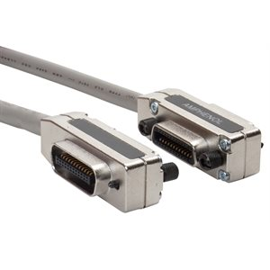 Shielded GPIB Cable (IEEE-488 Cable) w /  Stackable GPIB Connectors (24-pin M / F)
