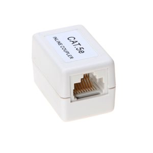 Category 5e (CAT5e) Coupler - 350 MHz CAT5e 8P8C Inline Cable Coupler - Gigabit Ethernet Compatible