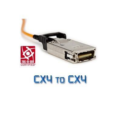 30m (98.4 ft) Active Optical CX4 to CX4 DDR Cable – 3M™ 6A44-B0421-030.0-0 20G OM2+ MMF Active Optical Cable (AOC) – DDR InfiniBand & 10GBASE-CX4 Compatible