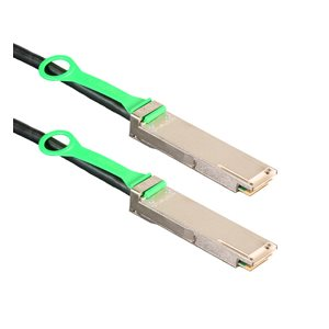 1m (3.3') 100GbE QSFP28 Cable - Amphenol 100-Gigabit Ethernet Passive Copper QSFP Cable (SFF-8665 802.3bj) - QSFP28 to QSFP28